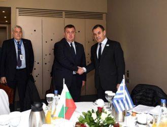 Παναγιωτόπουλος – Καρακατσάνοφ : Ενισχύεται η αμυντική συνεργασία μεταξύ Ελλάδας – Βουλγαρίας
