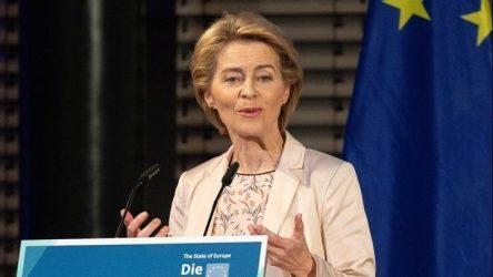Η φον ντερ Λάιεν επιδιώκει οι χώρες των Βαλκανίων να συνδεθούν με την ΕΕ