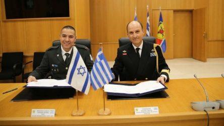 Υπεγράφη το Πρόγραμμμα Αμυντικής Συνεργασίας Ελλάδας-Ισραήλ για το 2020