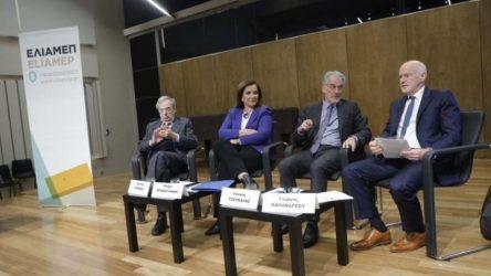 Εκδήλωση ΕΛΙΑΜΕΠ: Υπέρ της ενεργητικής πολιτικής και του διαλόγου με την Τουρκία, Ντ. Μπακογιάννη, Γ, Παπανδρέου, Γ. Κατρούγκαλος