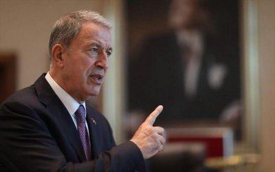 """Υπουργός Άμυνας Τουρκίας: """"Καλό είναι να μη παίζουν με τις δυνάμεις μας"""""""