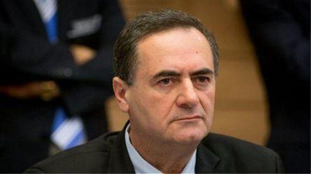 Ισραέλ Κατς: Οι Άραβες βουλευτές είναι «κουστουμαρισμένοι τρομοκράτες»