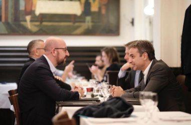 Πρωθυπουργός και Πρόεδρος του Ευρωπαϊκού Συμβουλίου μαζί στον Έβρο