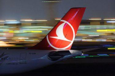 Καθηλωμένο το 85% των επιβατικών αεροπλάνων των Turkish Airlines