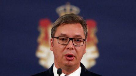Βούτσιτς: «Η Σερβία δεν θα αποτελέσει πάρκινγκ μεταναστών»