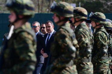 Στο πλευρό των Ενόπλων Δυνάμεων στον Έβρο ανήμερα του Πάσχα ο Υπουργός Εθνικής Άμυνας