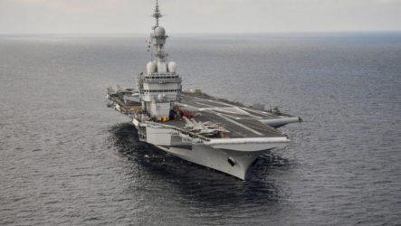 Το αεροπλανοφόρο Σαρλ ντε Γκωλ επιστρέφει στη Μεσόγειο έπειτα από ύποπτα κρούσματα COVID-19