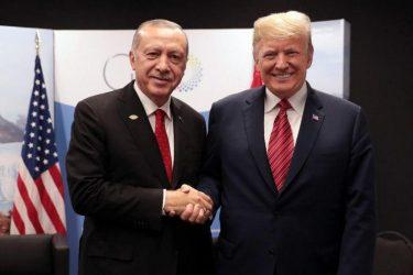 Ερντογάν σε Τραμπ: Ελπίζω το Κογκρέσο να κατανοήσει την σχέση των δύο χωρών