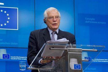 Μπορέλ: Οι ΥΠΕΞ εξέφρασαν ανησυχία για τη δραστηριότητα της Τουρκίας στην Αν. Μεσόγειο