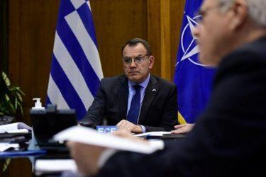 Επίθεση του Υπουργού Άμυνας σε Τουρκία στην τηλεδιάσκεψη του ΝΑΤΟ