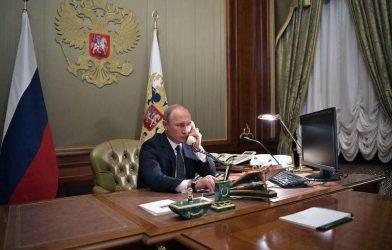Ντμίτρι Πεσκόφ:Δεν υπάρχει λόγος ανησυχίας για την υγεία του Βλαντιμίρ Πούτιν