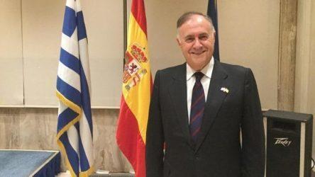 Ισπανός Πρέσβης για την τελετή στο Υπουργείο Εξωτερικών: «Σας ευχαριστώ!»