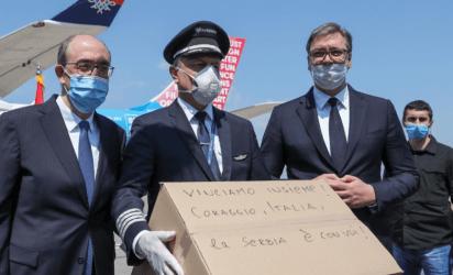 Η Σερβία εκλιπαρούσε για βοήθεια και τώρα στέλνει στην Ιταλία