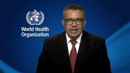 ΠΟΥ: Nα ενωθεί ο κόσμος για να καταπολεμήσει την πανδημία