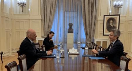 Συνάντηση του Υπουργού Εξωτερικών με τον Αμερικανό Πρέσβη στην Αθήνα