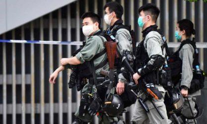 Χονγκ Κονγκ: Επίδειξη δύναμης για να αποτρέψουν διαμαρτυρίες ενάντια σε νόμο που ποινικοποιεί την γελοιοποίηση του εθνικού ύμνου της Κίνας