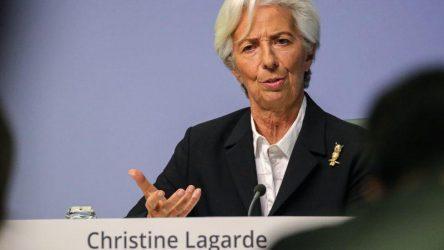 Λαγκάρντ: Η ΕΚΤ πρέπει να διατηρήσει το «δίχτυ ασφαλείας» έως τον Ιούνιο του 2021