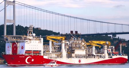 Ερντογάν: Το γεωτρύπανο Φατίχ διέσχισε τον Βόσπορο αυτήν την σημαντική ημέρα