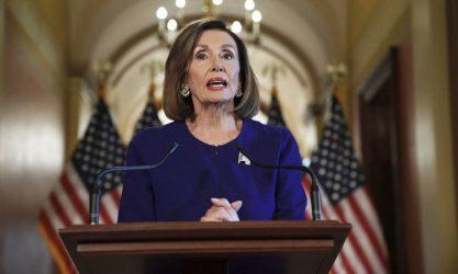 ΗΠΑ: Μήνυση κατά Πελόζι θα καταθέσουν οι Ρεπουμπλικάνοι βουλευτές