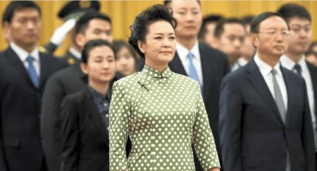 Η σύζυγος του Κινέζου Προέδρου «Πρέσβης καλής θέλησης» του ΠΟΥ
