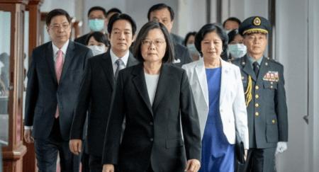 Η Πρόεδρος της Ταϊβάν αποφασισμένη να βάλει τέλος στην απομόνωση της χώρας από την Κίνα