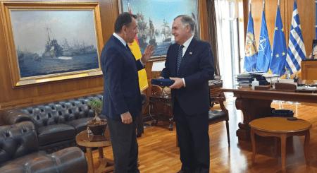 Συνάντηση ΥΕΘΑ Νικόλαου Παναγιωτόπουλου με τον Πρέσβη της Ισπανίας