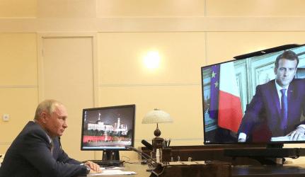 Μακρόν και Πούτιν ζητούν κατάπαυση του πυρός στην Λιβύη