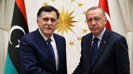 Η Τουρκία κάλεσε τον Αλ Σαράτζ και υποστηρίζει πως δεν θα κάνει καμία υποχώρηση στην Αν.Μεσόγειο