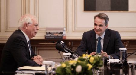 Πρωθυπουργός: H EE στέκεται στο πλευρό της Ελλάδας «καθώς υπερασπιζόμαστε τα κυριαρχικά μας δικαιώματα»
