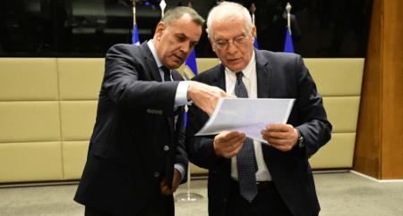 Νίκος Παναγιωτόπουλος σε Μπορέλ: Η Τουρκία λειτουργεί αποσταθεροποιητικά στην περιοχή