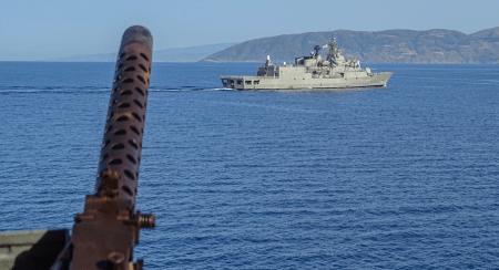 Άσκηση του Πολεμικού Ναυτικού στο κεντρικό και βόρειο Αιγαίο