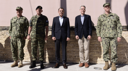 Ο Τζέφρι Πάιατ επιβεβαίωσε από την Σούδα ότι η Ελλάδα αποτελεί το Στρατηγικό Βάθος των ΗΠΑ