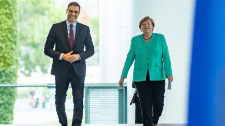 Συνάντηση Μέρκελ -Σάντσεθ: «Διάθεση για συμβιβασμό» και «αποφάσεις εντός Ιουλίου»