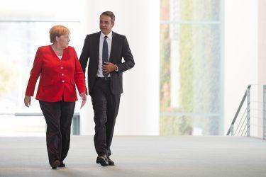 Τηλεφωνική επικοινωνία του Έλληνα πρωθυπουργού με την Γερμανίδα Καγκελάριο