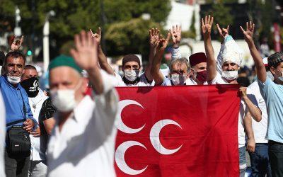 «Κατάληψη» της Αγίας Σοφίας από τους διαχειριστές του Ερντογάν, τους Αδελφούς Μουσουλμάνους