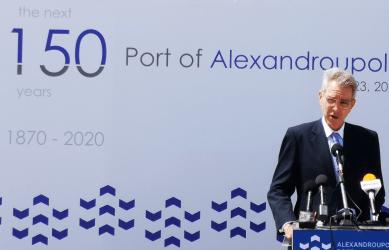 Επιβεβαίωση του ενδιαφέροντος της Black Summit για λιμάνια Αλεξανδρούπολης- Καβάλας