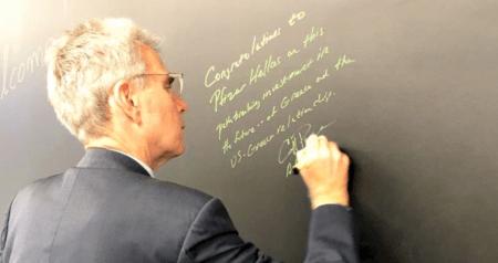 Τζέφρι Πάιατ: Συγχαρητήρια στην Pfizer Hellas για αυτήν την πρωτοποριακή επένδυση στο μέλλον