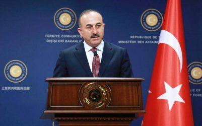 Ο Τσαβούσογλου καταδικάζει έντονα τα «προσβλητικά» σχόλια του Ντράγκι για τον Ερντογάν