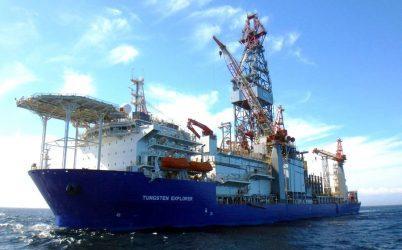 Στο λιμάνι της Λάρνακας αγκυροβόλησε το πλωτό γεωτρύπανο Tungsten Explorer