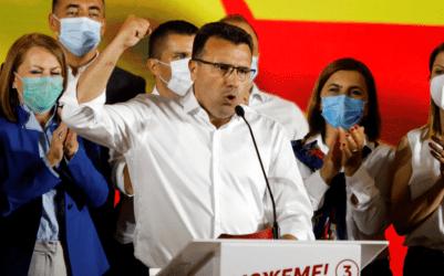 Ζόραν Ζάεφ: Νικητής των βουλευτικών εκλογών