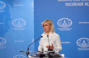 Μαρία Ζαχάροβα: Εκφράζουμε την ανησυχία μας για την κατάσταση στην Ανατολική Μεσόγειο