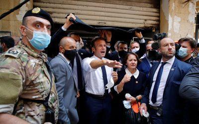 Λίβανος: Ζητούσαν από τον Μακρόν να διώξει την κυβέρνηση