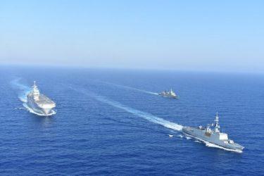 Κοινή Ναυτική Άσκηση Ελλάδας – Γαλλίας