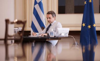 Μητσοτάκης-Τζόνσον συζήτησαν για Brexit, τουρκικές προκλήσεις και πανδημία