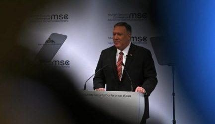 Πομπέο: Θα εμποδίσουμε το Ιράν να αποκτήσει ρωσικά και κινεζικά όπλα
