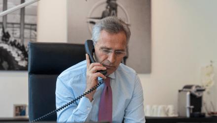 Επικοινωνία Ερντογάν – Στόλτενμπεργκ για την ανατολική Μεσόγειο