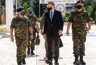 Επίσκεψη Αλκιβιάδη Στεφανή στις εγκαταστάσεις των Ελληνικών Αμυντικών Συστημάτων στο Λαύριο