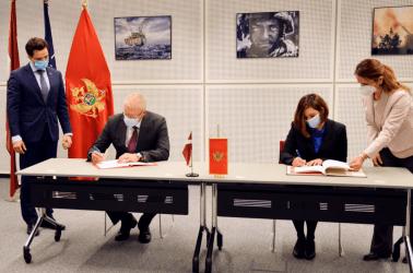 Σημαντική Συμφωνία ως μέλη του ΝΑΤΟ υπέγραψαν Λετονία και Μαυροβούνιο
