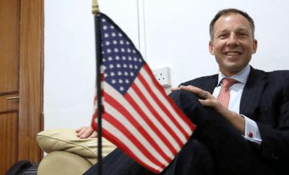 Στην Καβάλα ο Φράνσις Φάνον – Επιβεβαίωσε το ενδιαφέρον των ΗΠΑ για την Φυσική Αποθήκη Καβάλας και Energean
