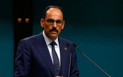 Ιμπραήμ Καλίν: Η κυβέρνηση Τσίπρα είχε επικαλεστεί αδυναμία συνέχισης  των συνομιλιών